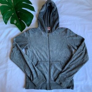 Juicy couture velour tracksuit hooded jacket
